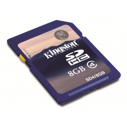 FLASH CARD SD 8GB KINGSTON C4 - SD4 8GB