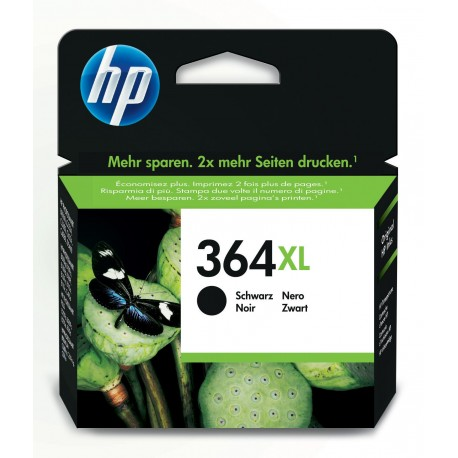 HP CARTUCCIA NERO PHOTOSMART C6380  364XL