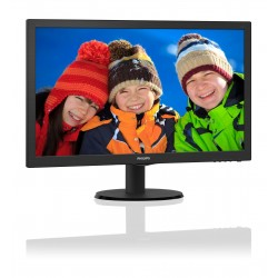 "MONITOR PHILIPS 24""LED FULL HD PIATTO -  243V5LHAB5"